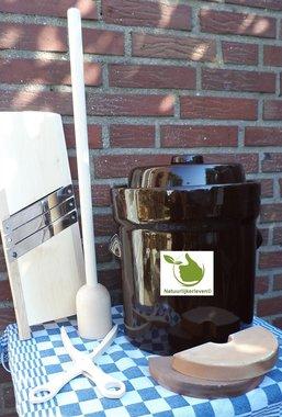 Startpakket zuurkool 10 liter (Bruin-Modern)