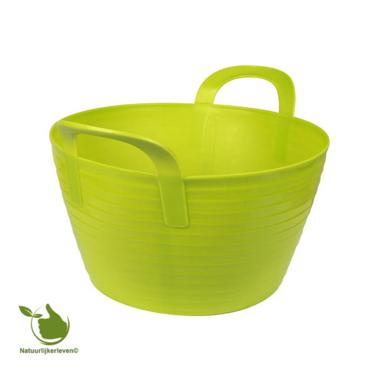 Mand flexibel, FlexBag groen 12-liter