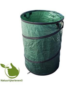 Opvouwbare zak voor tuinafval 100 liter