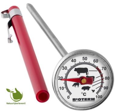 Thermometer voor barbecue