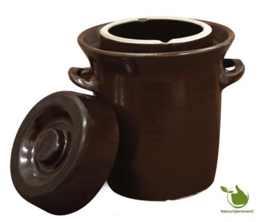 Zuurkoolpot (bruin/klassiek) 20 liter