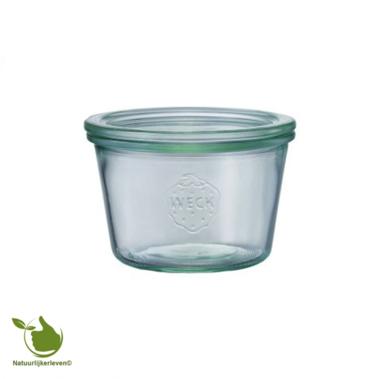 Weck STORT glas met deksel (370ml) 1/4L