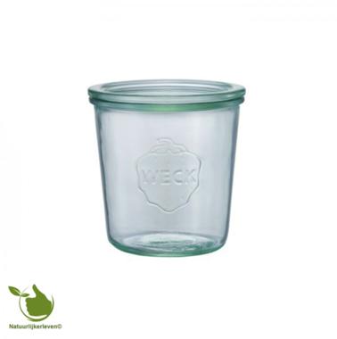 Weck STORT glas met deksel (580ml) 1/2L