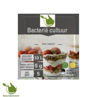 Bacteriële culturen voor yoghurt, voor 10L melk