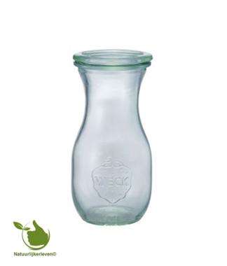 Weck SAP fles met deksel (290ml) 1/4L