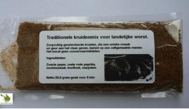 Traditionele kruidenmix voor landelijke worst
