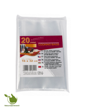 Plastic zakken voor de hamkoker 1,5 kilo