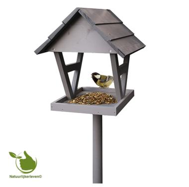 Vogelvoederhuisje Vogar met standaard