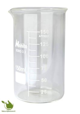 Bekerglas 150 ml gegradueerd hittebestendig