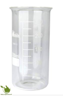 Bekerglas 250 ml gegradueerd hittebestendig