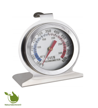 Oven thermometer (rond) 50 + 300 ° C