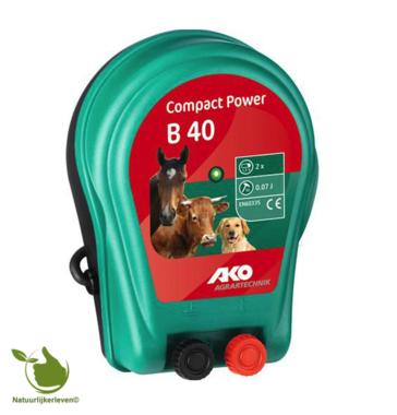AKO Compact Power B 40 batterijapparaat, 2x 1.5V