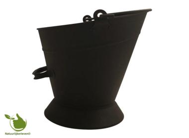 Kolen of pelletemmer 10L voor kolen en pellets