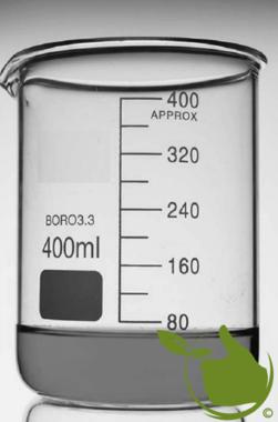 Bekerglas 400 ml Laag model hittebestendig borosilikaatglas