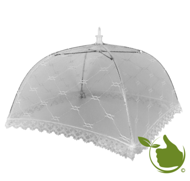 Voedsel paraplu 43x43cm