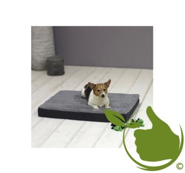 Orthopedisch Hondenkussen 72x50x8cm Antraciet