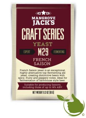 Gedroogde biergist French Saison M29 – Mangrove Jack's Craft Series - 10 g