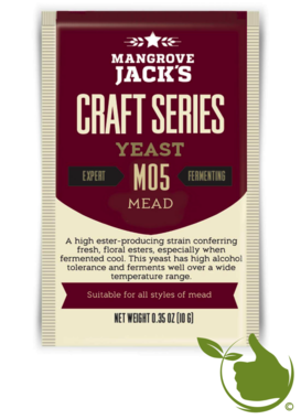 Gedroogde biergist Mead – Mangrove Jack's Craft Series - 10 g