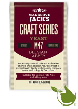 Gedroogde biergist Belgian Abbey M47 – Mangrove Jack's Craft Series - 10 g
