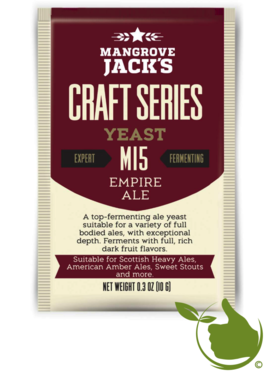 Gedroogde biergist Empire Ale M15 – Mangrove Jack's Craft Series - 10 g