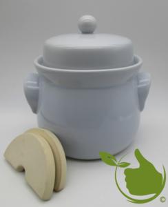 Mini zuurkool/kimchipot 2 liter