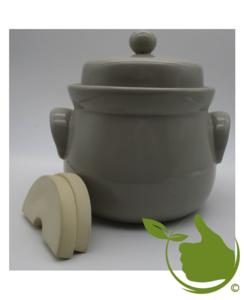 Mini zuurkool/kimchipot 1 liter