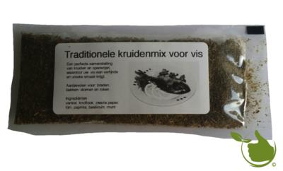 Traditionele kruidenmix voor vis