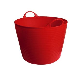 Mand flexibel, FlexBag rood 28-liter