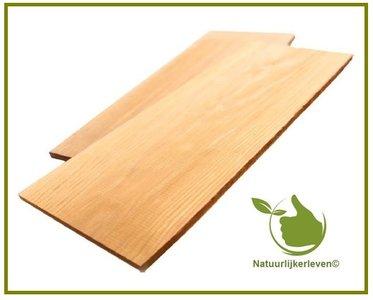Cederhouten plank 18x38 2st