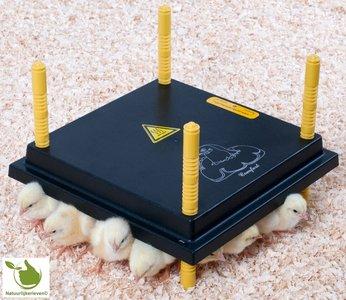 Warmteplaat voor kuikens 30x30cm 22Watt