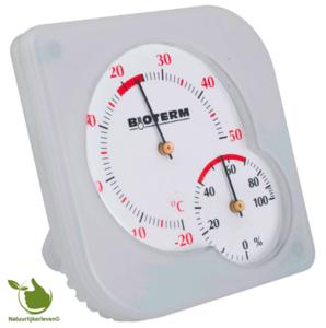 Bimetaalthermometer en hygrometer
