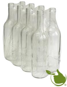Wijnflessen 0,75 liter Helder