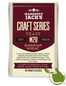 Gedroogde biergist Bavarian Wheat M20 – Mangrove Jack's Craft Series - 10 g