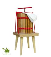 Fruitpers 10 liter (op vast houten onderstel)